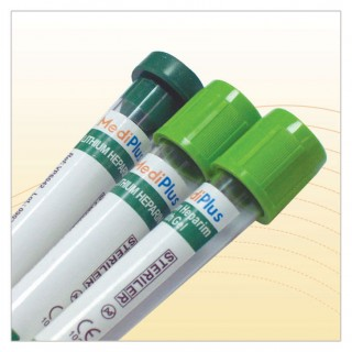 Lithium Heparin Tubes (with Gel)